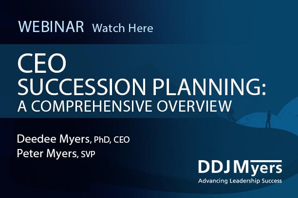 CEO Succession Planning