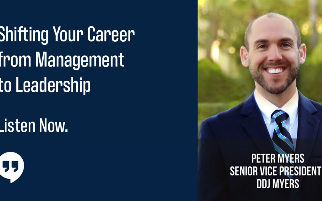 Shifting Your Career from Management to Leadership