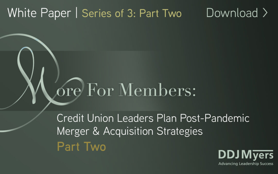Now what? Build a merger strategy and take action